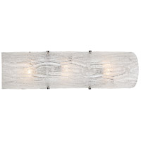 Brilliance 3 Light 7 inch Polished Chrome ADA Wall Sconce Wall Light