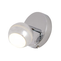 Alternating Current Bionic 1 Light Vanity in Polished Chrome AC1181