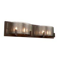 Firefly 4 Light 22 inch Industrial Bronze Bath Vanity Wall Light