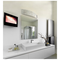 Alternating Current Dashing 4 Light Vanity in Polished Stainless Steel AC1204 alternative photo thumbnail