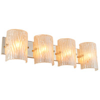 Alternating Current AC1304 Brilliance 4 Light 31 inch Champagne Vanity Wall Light alternative photo thumbnail