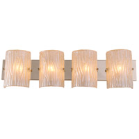 Alternating Current AC1304 Brilliance 4 Light 31 inch Champagne Vanity Wall Light photo thumbnail