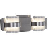 Restraint LED 14 inch Polished Chrome Vanity Wall Light