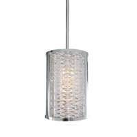 Alternating Current Correa 1 Light Mini Pendant in Polished Chrome AC1430