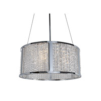 Alternating Current Correa 4 Light Pendant in Polished Chrome AC1435