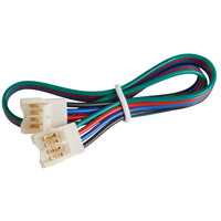 Ambiance 905021-15 Emily White Connector Cord