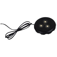 Ambiance 910012-12 Signature 12V LED Black Disk Light