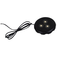 Ambiance 910015-12 Signature 12V LED Black Disk Light