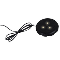 Signature 12V LED Black Disk Light