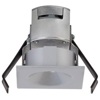 Ambiance 920000-849 Signature Satin Nickel Mini LED Niche Non-IC with Trim