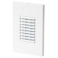 Louver 277V 3.9 watt White Step Light