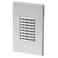 Louver 277V 3.9 watt Satin Nickel Step Light