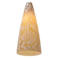 Transitions Vanilla Creme Pendant Glass/Shade