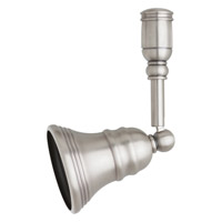Transitions 1 Light Antique Brushed Nickel Rail Mount Directional Ceiling Light