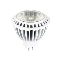 Signature LED MR16 GU5.3 Bi-Pin Base LED GU5.3 Bi-Pin 7 watt 12V 3000K Lx MRC11 / MR16 Lamps