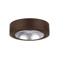 Ambiance 9858-171 Xenon Disk 12V Xenon Painted Antique Bronze Disk Light