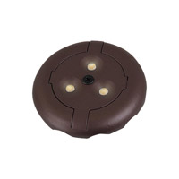 LED Disk 12V LED Plated Bronze Disk Light