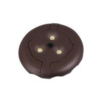 Ambiance 98859SW-787 Led Disk 12V LED Plated Bronze Disk Light