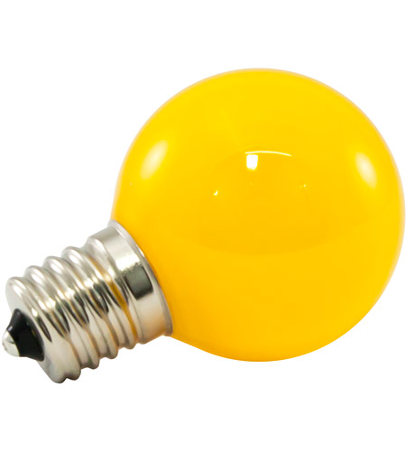 Frosted Yellow Pro Decorative Light Bulbs