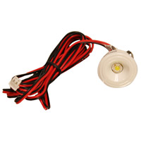 Bullet LED 1 inch White Puck Light
