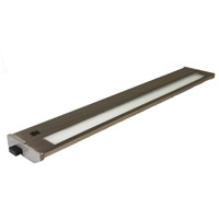American Lighting 043T-22-BS Priori Fluorescent 22 inch Brushed Steel Under Cabinet Light