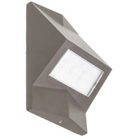 Wedge 5 inch Dark Bronze Wall Pack Wall Light