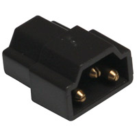 Complete Black In-Line Connector