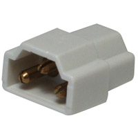 Complete White In-Line Connector