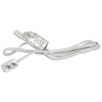 American Lighting ALLVP-PC6-WH MVP White Power Cord