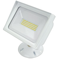 American Lighting ALV3-48WF-WH Panorama Flood Light LED 6 inch White Flood Light