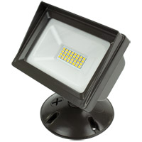 American Lighting ALV3-WF-DB Panorama Flood Light LED 6 inch Dark Bronze Flood Light
