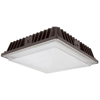 COB Canopy LED 10 inch Dark Bronze Flush Mount Ceiling Light