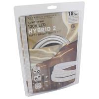 American Lighting H2-KIT-18-WH Hybrid 2 White 5000K 216 inch Tape Light Kit