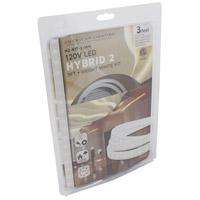 American Lighting H2-KIT-3-WH Hybrid 2 White 5000K 36 inch Tape Light Kit