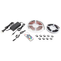 American Lighting HTL-RGB-5MKIT Trulux White 197 inch Tape Light Kit High Grade