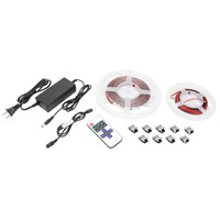 American Lighting HTL-WW-5MKIT Trulux White 3000K 197 inch Tape Light Kit High Output Tunable