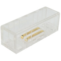 American Lighting MLUX-SPL2 Trulux Lighting Systems White Splice Kit for Microlux 2Pin Single Color
