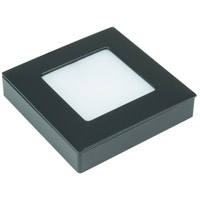 American Lighting OMNI-TW-S1-BK Omni LED Puck Light Tunable LED 3 inch Black Undercabinet Square