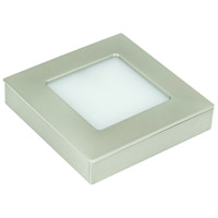 American Lighting OMNI-TW-S1-NK Omni LED Puck Light Tunable LED 3 inch Nickel Undercabinet Square