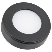 American Lighting OMNI-TW-R1-BK Omni LED Puck Light Tunable LED 3 inch Black Undercabinet, Round