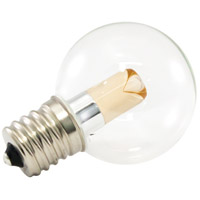 American Lighting PG40-E17-WW Pro Decorative LED Intermediate 1 watt 2700K Light Bulb