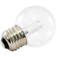 American Lighting PG50-E26-WH Pro Decorative LED Medium 1.4 watt 5500K Light Bulb