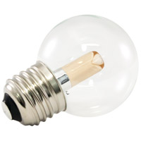 American Lighting PG50-E26-WW Pro Decorative Lamp Collection LED Medium 1.40 watt 2700K Light Bulb