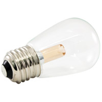 American Lighting PS14-E26-UWW Pro Decorative Lamp Collection LED S14 Medium 1.40 watt 2400K Light Bulb