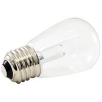 American Lighting PS14-E26-WH Pro Decorative LED S14 Medium 1.4 watt 5500K Light Bulb