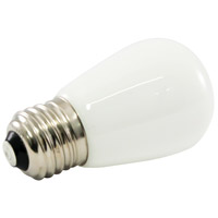 American Lighting PS14F-E26-WH Pro Decorative LED S14 Medium 1.4 watt 5500K Light Bulb