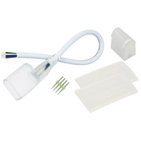 American Lighting RGB-NF-CONKIT-NP Polar Neon Flex Collection White Power Connector Kit