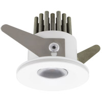 American Lighting RMS12-30-401-WH RMS Mini Swivel White Mini Recessed