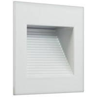 American Lighting SQ-1-WH Inner Square 120V 1 watt White Step Light