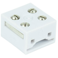 American Lighting TL-BLKS TruLux White Connector Block